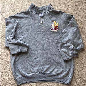 Sweaters - Gamma Phi Beta sorority quarter zip crew neck